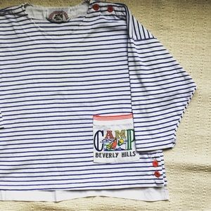 Vintage 80s Camp Beverly Hills T Shirt